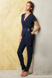 buy jumpsuit buy navy belted jumpsuit from the uk shop jumpsuits
