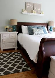 Master Bedroom Decorating Ideas With Sleigh Bed Master Bedroom Makeover Christinas Adventures