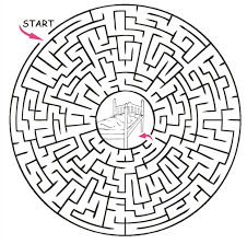 printable maze puzzles for adults printable maze 20 spanish