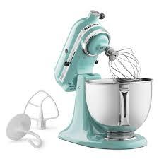 kitchen aid kitchenaid ksm150psaq 10 speed stand mixer w 5 qt stainless bowl