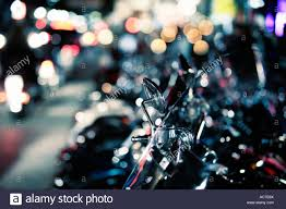 row harley davidson motorcycles parked stock photos u0026 row harley