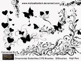 rnamental butterflies 2 465 brushking