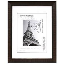 18 x 24 in espresso maria poster frame at home at home