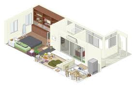 Studio Apartment Floor Plans Download Studio House Plans Home Intercine