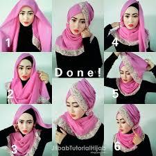 tutorial jilbab ala ivan gunawan 21 foto tutorial hijab segi empat glamor untuk anda tutorial hijab