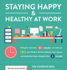 standing desks benefits archives e learning infographics