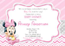 minnie mouse baby shower invitations amazing ideas baby minnie mouse shower invitations peachy design