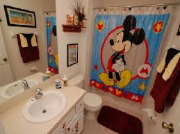 Full Bathroom Sets by Bathroom Kids Bathroom Decor With Mickey Mouse Curtains And Cute