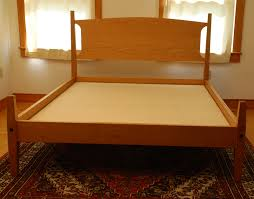 Platform Bed Plans Free Download by Handmade Cherry Shaker Old Lyme Platform Bed Custom Made Vt Beds