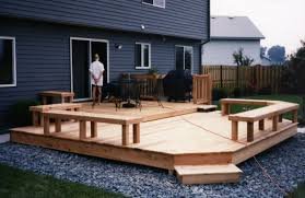 small backyard deck designs cedar multi level patio deck with