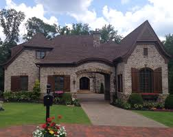 Home Exterior Design Brick And Stone Brick Stone And Stucco And Shutters Dream Home Pinterest