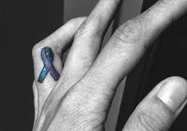 ra ribbon rheumatoid arthritis inspiring tattoos