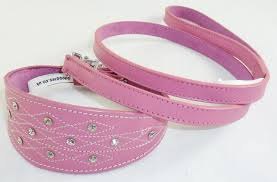 afghan hound collars uk leather whippet greyhound collar with new stiching design diamante