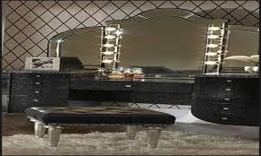 bedroom vanity sets with lighted mirror decoraci on interior