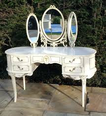 Vintage Style Vanity Table Vintage Dressing Table Mirror With Corsage Flowers Antique