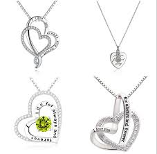 necklaces for the best forever and always necklaces for your loved ones jusly