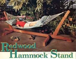 hammock stand plans u2022 woodarchivist