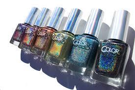 holo nail polish by color club missodessa