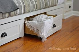 Built In Kitchen Cabinets How To Make A Built In Bed Using Stock Kitchen Cabinets Hometalk