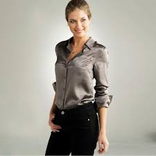 grey silk blouse satin blouses satin blouse