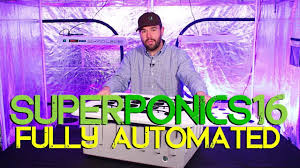 Superclosets by Superponics 16 Hydroponic System By Supercloset Youtube