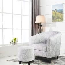 living room chairs and ottomans chair ottoman sets you ll love