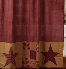 Shower Curtain Brands Star Shower Curtain By Vhc Brands