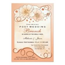 after wedding brunch invitation wedding reception only and after wedding invitations by vis