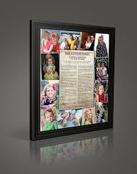 framed family proclamation custom family proclamations lds 16 x20 family proclamation