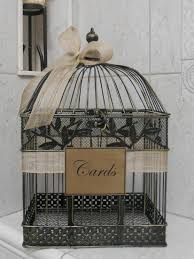 wedding gift card holder birdcage card holder n l notes