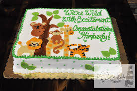 jungle baby shower cakes baby shower cakes for boys a cake