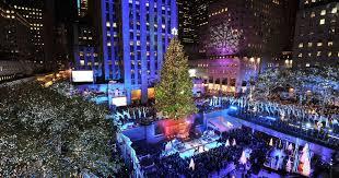 rockefeller style christmas tree set for dublin as new christmas