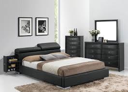 manjot 3pc king black bedroom set 20747ek