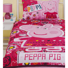Peppa Pig Toddler Duvet Cover Peppa Pig Quilt Duvet Cover Bedding Set Funstra