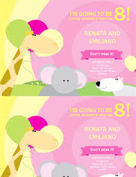 design for birthday invitation card chatterzoom