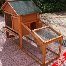 gabbie per gabbie per conigli nani e conigliere in legno da esterno emporio