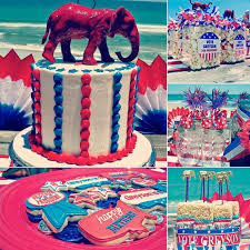 unique party for president birthday party patriotic planning ideas cake supplies