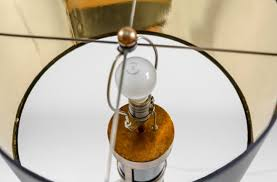 and gold table lamp retro glam lamp aurora