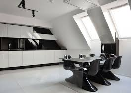 Black And White Contemporary Kitchen - how to design kitchen black and white my home design journey
