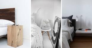 le de chevet chambre table de chevet de design original 12 idées chic pour la chambre adulte