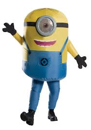 Inflatable Halloween Costumes Inflatable Minion Stuart Costume For Adults