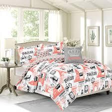 Anchor Comforter Crest Home Bon Voyage Queen 5 Piece Paris London Bedding Comforter