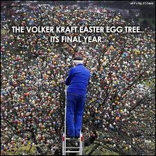 german easter egg tree volker kraft easter egg tree in its year on if it s hip its here