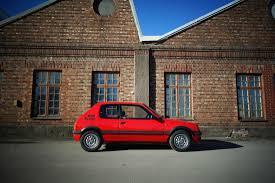 vintage peugeot car 032 peugeot 205 gti benzina vintage car finder