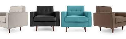 eleanor mid century modern club chair armchair arm clubchair