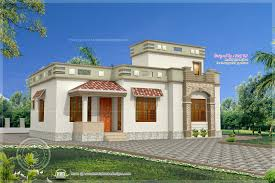 Low bud Kerala style home in 1075 sq feet