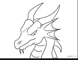 coloring pages alluring easy draw dragons coloring pages easy