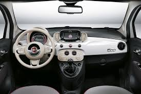 fiat 500 2016 facelift revealed first official pics of 500 u0027s new