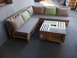 wooden pallet l shape sofa set 101 pallet ideas