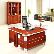 Office Desk Pedestal Drawers Office Desk Office Desk Mahogany Bush Bow Front Accommodates Two